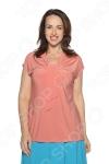 Блуза VEAS «Строгий лоск». Цвет: розовый