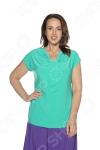 Блуза VEAS «Строгий лоск». Цвет: салатовый