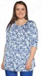 Блуза Лауме-Лайн «Сад чудес». Цвет: васильковый