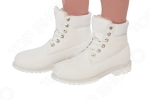 Ботинки Mon Ami «Удобная походка». Цвет: белый
