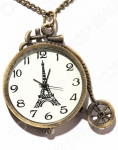 Кулон-часы Mitya Veselkov «Париж-ретро»