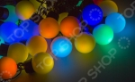 Гирлянда светодиодная Neon-Night «Мультишарики». Цвет: темно-зеленый