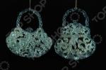 Елочное украшение Crystal Deco «Сумочка» 1707677. В ассортименте
