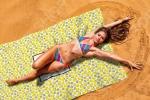 Покрывало пляжное Сирень «Лимонный фреш»