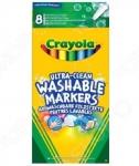 Набор фломастеров смываемых Crayola 58-8330 «Супер чисто»