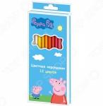 Набор цветных карандашей Peppa Pig «Свинка Пеппа»: 12 цветов