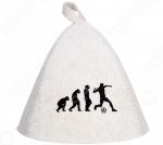 Шапка для бани и сауны Hot Pot «Эволюция» 41233
