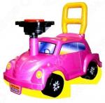 Машина-каталка Нордпласт Go! «Розовое чудо»