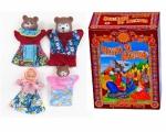 Набор для кукольного театра Русский стиль «Три медведя» 40598. В ассортименте