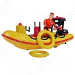 Набор игровой для мальчика Simba с фигуркой «Лодка спасателей»