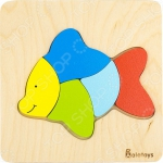 Пазл для малышей Alatoys «Рыбка»